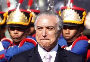 O vice-presidente da República Michel Temer Foto: Givaldo Barbosa / Agência O Globo