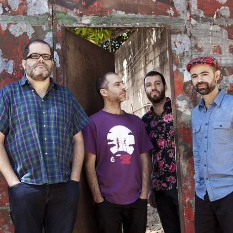 A banda paulista Passo Torto é um dos nomes presentes no disco do Amplificador Foto: Divulgação/Everton Ballardin