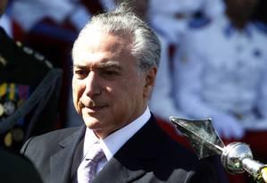 Antes de sair da articulação, Temer negociou para aprovar PEc sobre pacto federativo Foto: Givaldo Barbosa / Agência O Globo
