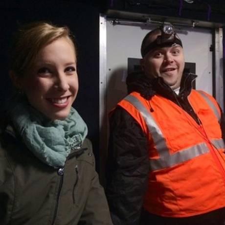 Alison Parker e Adam Ward foram mortos por atirador em uma transmissão ao vivo Foto: Handout / AFP