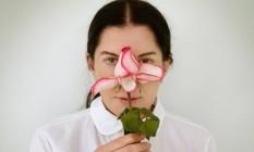 A artista visual sérvia sérvia Marina Abramovic, que terá uma de suas obras expostas na Trio Bienal, em setembro Foto: Divulgação