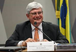 Senado aprova recondução de Rodrigo Janot ao cargo de procurador-geral da República Foto: Ailton de Freitas / Agência O Globo