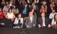 BSB- Brasilia - Brasil - 20/08/2015 - PA - O presidente da Câmara, Eduardo Cunha, ao lado da cantora gospel, Aline Barros. durante culto realizado no auditório Nereu Ramos, da câmara. Foto deputado Sóstenes Cavalcante/PSD-RJ