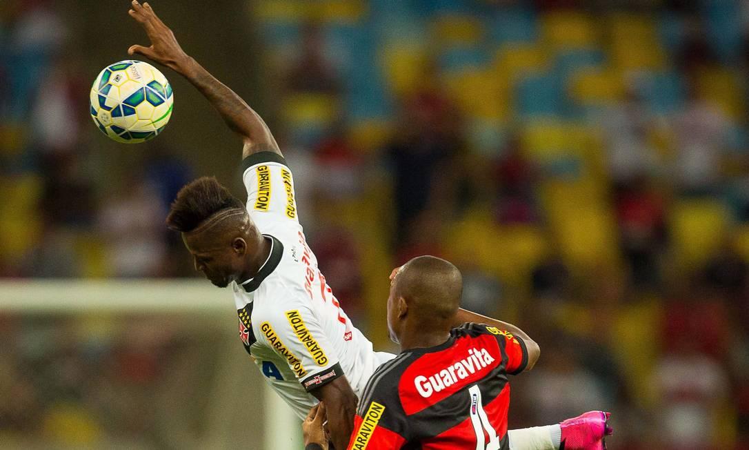 Vasco e Flamengo se enfrentam pela Copa do Brasil 2015 Daniel Marenco / Agência O Globo