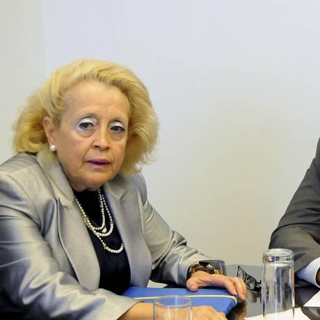 Thanou e Tsipras em 2014 Foto: EUROKINISSI / REUTERS