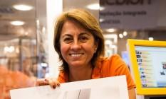 Ângela Siemsen também ensina técnicas de pós-produção Foto: Agência O Globo / Bárbara Lopes