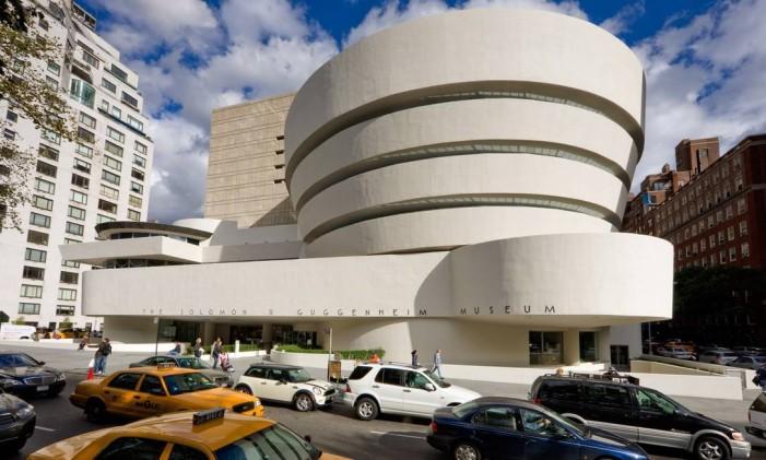 Edifício do Museu Guggenheim de Nova York Foto: David M. Heald/Solomon R. Guggenheim Foundation / Divulgação