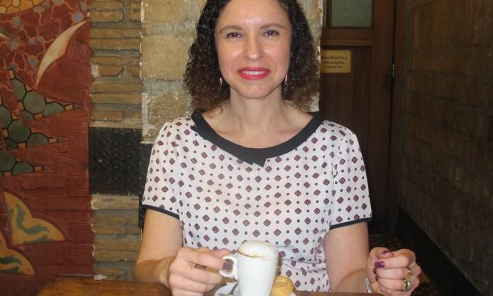 RG - Dois cafés e a conta com Samara Camilo Foto: Mauro Ventura / O GLOBO
