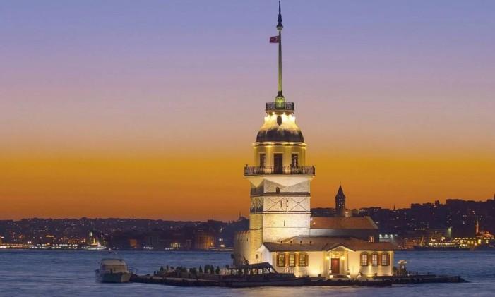 Kiz Kulesi, em Istambul, na Turquia Foto: Edwin Poon / Divulgação / Creative Commons