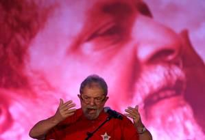 O ex-presidente Lula Foto: Ailton de Freitas/14-08-2015 / Agência O Globo