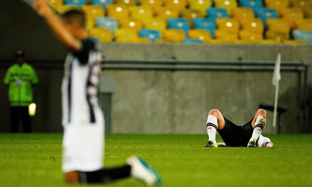 Com um gol no fim, o Vasco foi derrotado pelo Figueirense no Maracanã Guilherme Leporace / Agência O Globo