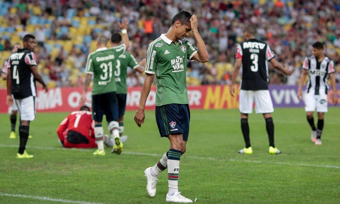 A vitória deixou o Atlético-MG na perseguição ao líder Corinthians Pedro Kirilos / Agência O Globo