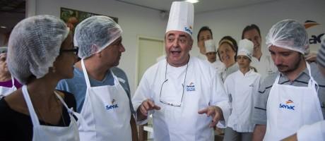 O chef da Locanda della Mimosa, Danio Braga Foto: Adriana Lorete / O Globo