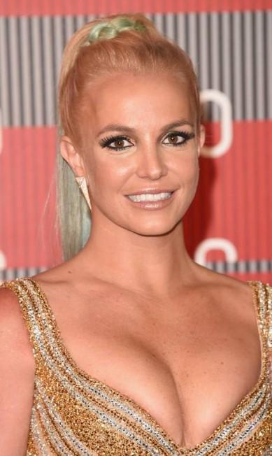 Zoom na beleza de Britney Spears Jason Merritt / AFP