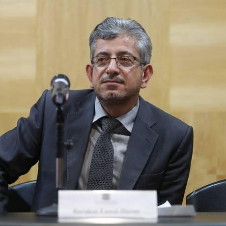 Barakat Fawzi Hasan, na Fundação Getúlio Vargas Foto: Fernando Donasci