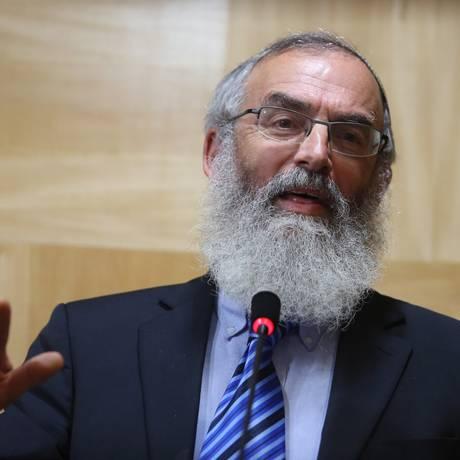 O rabino David Shlomo Stav Foto: Fernando Donasci