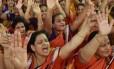 Jainistas em protesto contra decisão de Rajasthan que bania ritual de morte