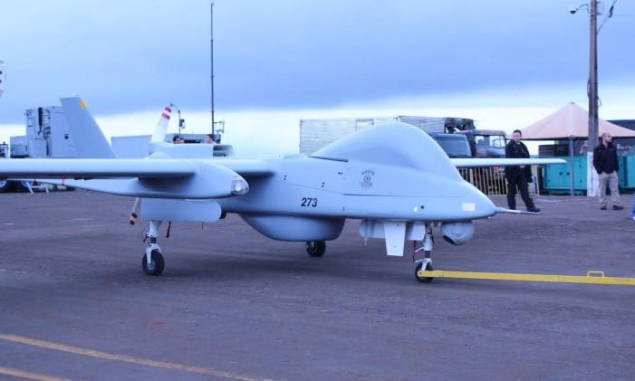 O drone da PF utilizado para monitorar o traficante Menor P. Foto: Divulgação / Polícia Federal