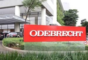 Sede da Odebrecht Foto: Agência O Globo / Michel Filho/Arquivo