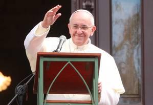 Este é o mais recente passo do Papa rumo a uma ingreja mais inclusiva Foto: Fabiano Rocha / Agência O Globo