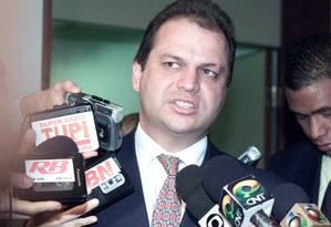 O deputado Ricardo Barros Foto: Givaldo Barbosa/11-07-2002 / Agência O Globo