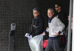 Na fase 'Pixuleco'', a Polícia Federal prendeu o ex-ministro da Casa Civil, José Dirceu, em agosto de 2015. Na foto, o ex-ministro deixa a carceragem da Policia Federal em Curitiba, quando foi transferido para o complexo medico penal. Foto: Geraldo Bubniak/1-9-2015