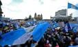 Manifestantes pedem renúncia de presidente Otto Perez Molina