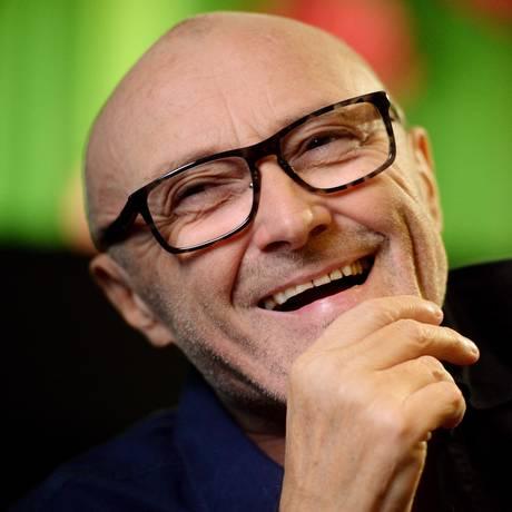 'No fim de setembro eu já devo poder entrar em estúdio', avisa Phil Collins, que também pensa em fazer shows no Brasil Foto: Bernd Weissbrod/AFP