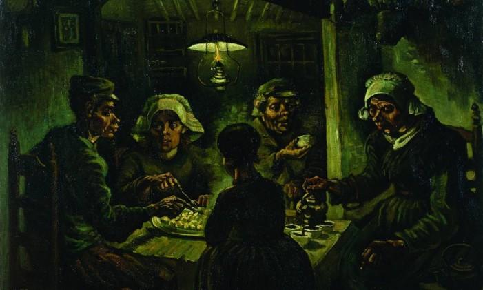 """""""Comedores de batata"""" Foto: Divulgação / Turismo da Holanda"""