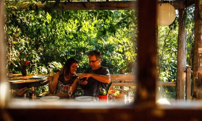 Restaurante Taberna do Darwin, no Engenho do Mato Foto: Guiherme Leporace / Agência O Globo
