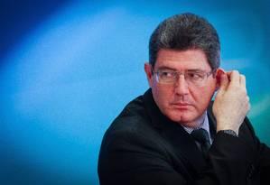 Joaquim Levy, ministro da Fazenda Foto: ANDRÉ COELHO / Agência O Globo