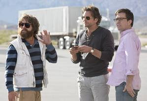 Os personagens principais do filme