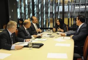 Reunião do Colegiado de Líderes para discutir a Lei de Diretrizes Orçamentárias (LDO) e a Lei Orçamentária Anual (LOA) para 2016 Foto: Lucio Bernardo Junior / Câmara dos Deputados
