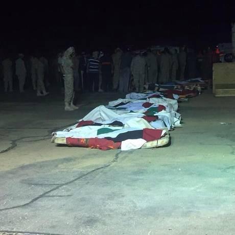 Soldados morreram após disparo de foguete Foto: Reprodução/Twitter