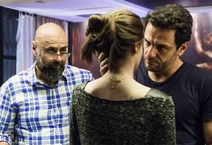 Mauro dirige Camila e Rodrigo - essa é a terceira novela do diretor no horário das 23h Foto: Bárbara Lopes