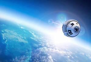 Ilustração do projeto da Starliner Foto: NASA