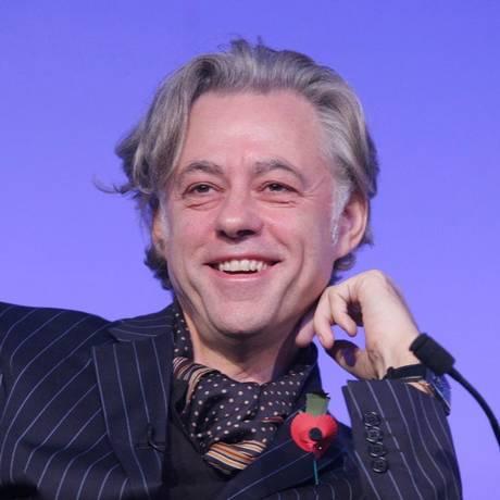 Cantor e ativista irlandês Bob Geldof, que conduz iniciativas de ajuda humanitária Foto: Divulgação