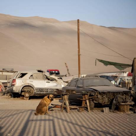Reina foi considerada heroína em Arica Foto: Felipe Muena / AP