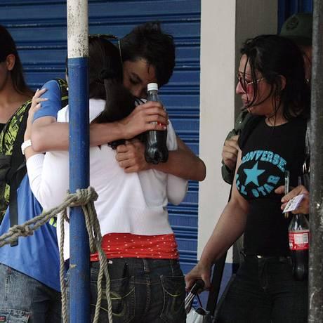 Colombianos deportados pela Venezuela em foto do fim de agosto. Foto: George CASTELLANOS / AFP