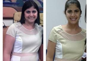 Ana Geórgia Simão, que tem lúpus, emagreceu 14 quilos com uma dieta controlada para estabilizar a doença Foto: Arquivo pessoal
