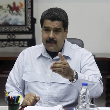 Nas últimas duas semanas Maduro fechou seis passagens de fronteira e deportou mais de 1.000 imigrantes ilegais colombianos Foto: HANDOUT / REUTERS