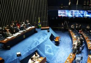 Senado aprova texto final da reforma política e cota para mulheres Foto: Ailton de Freitas / Agência O Globo