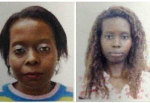 As irmãs Raquel (à esquerda) e Talita Amâncio: vítimas de tragédia em Paraty Foto: Reprodução