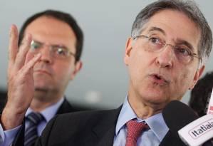 O governador de Minas Gerais, Fernando Pimentel Foto: André Coelho/28-1-2015