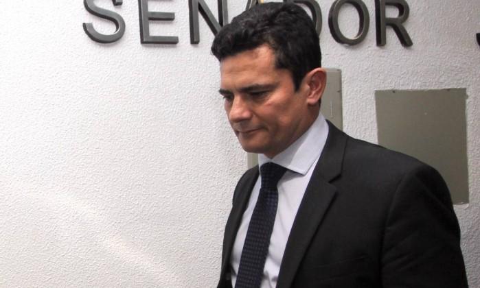 No Senado, Sérgio Moro defende prisão de réus condenados em segunda instância