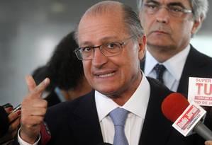 O governador de São Paulo, Geraldo Alckmin Foto: Givaldo Barbosa/10-11-2014