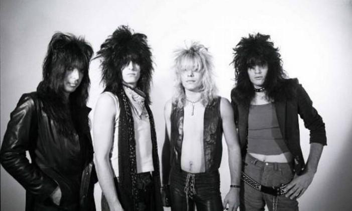 O Mötley Crüe Foto: Reprodução