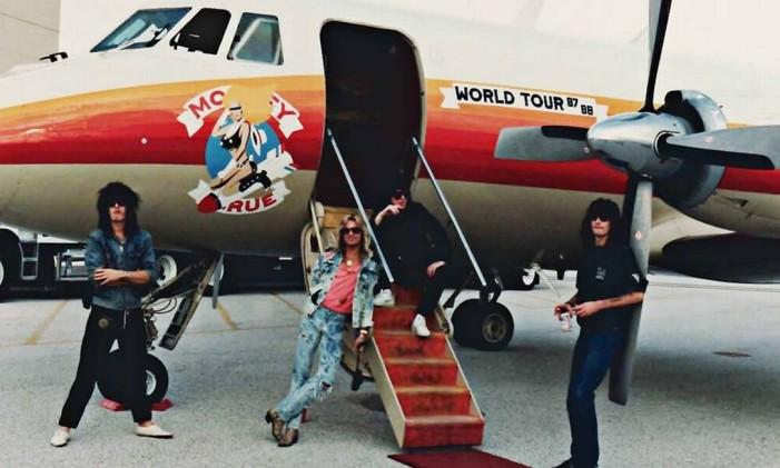 Mötley Crüe Foto: Reprodução
