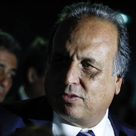 O governador do Rio, Luiz Fernando Pezão Foto: André Coelho/26-8-2015