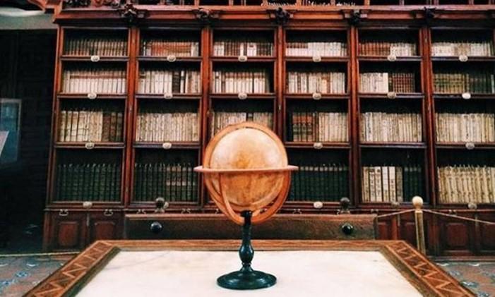 Biblioteca Palafoxiana em Puebla, México Foto: @isued / Instagram